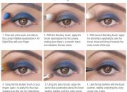 All Night Blue Makeup Pictorial