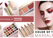 Sephora + Pantone Marsala Collection
