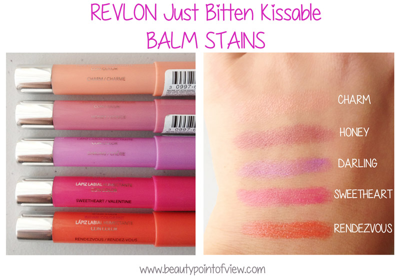 Revlo Balm Stain Swatches
