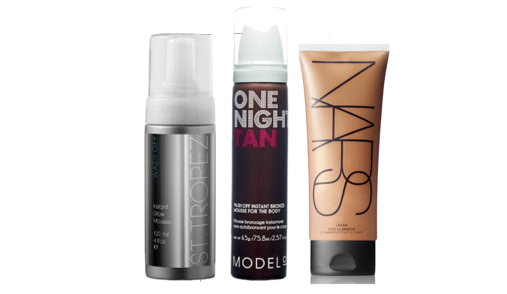 St Tropez Bronzing Mousse - ModelCo One Night Tan - Nars Laguna Illuminator