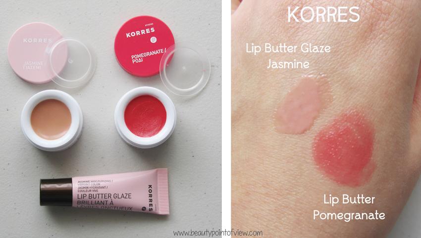 Korres Lip Butters & Lip Butter Glaze