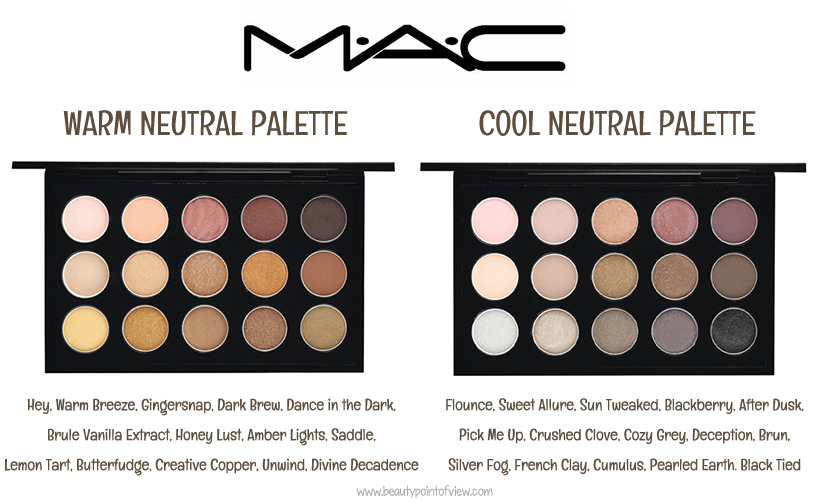 New makeup products 2014 beauty point of view for Warm neutral color palette