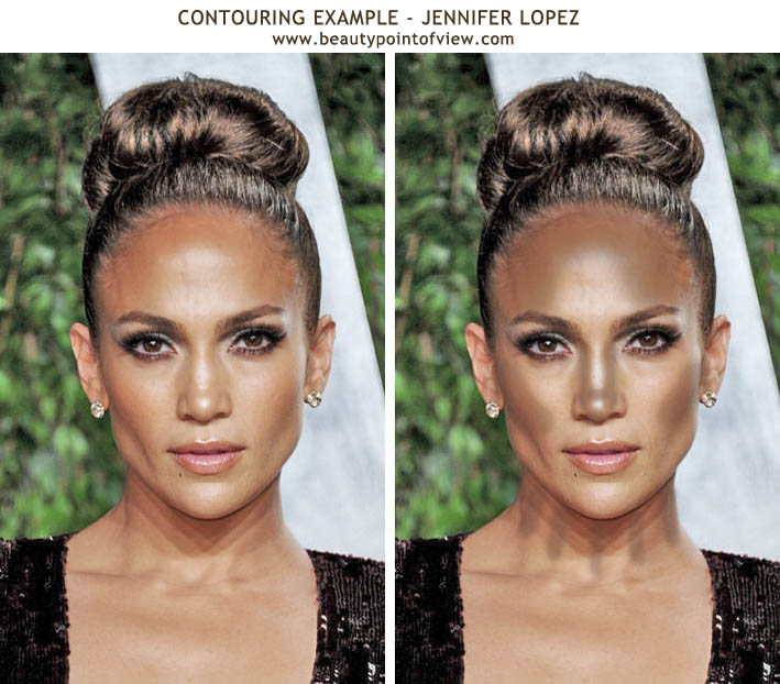 Contouring To Enhance The Features Beauty Point Of View