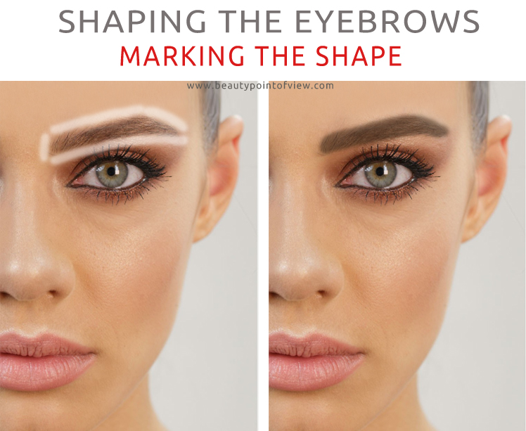 Shaping The Eyebrows Beauty Point Of View