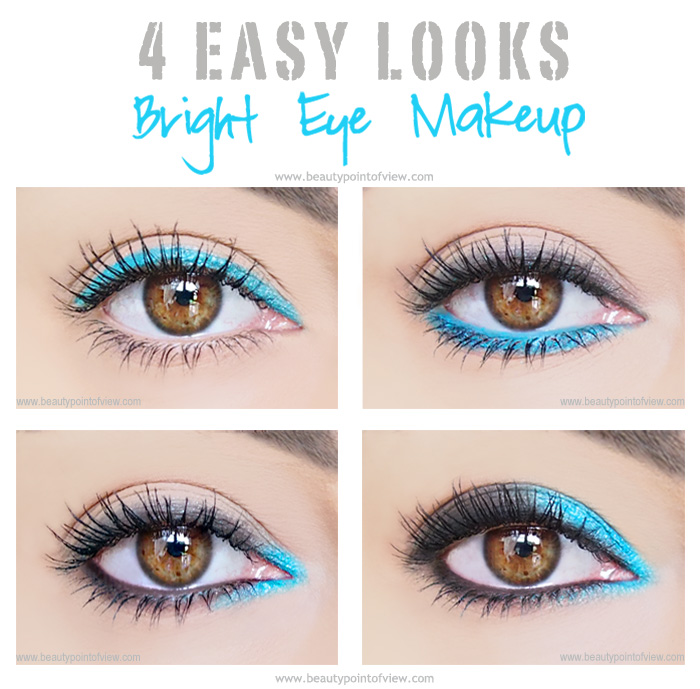 how to wear teal eyeshadow subtle