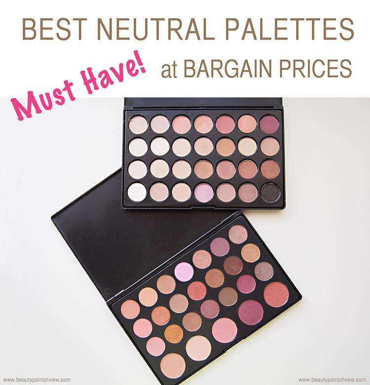Best Neutral Eyeshadow Palettes at Bargain Prices
