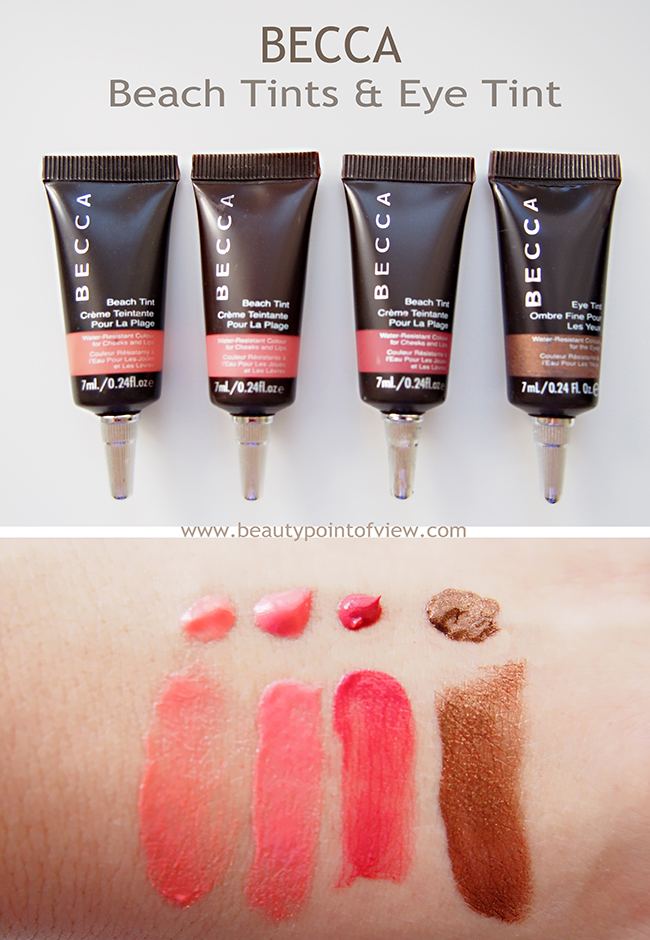 Becca Tints Beauty Point Of View