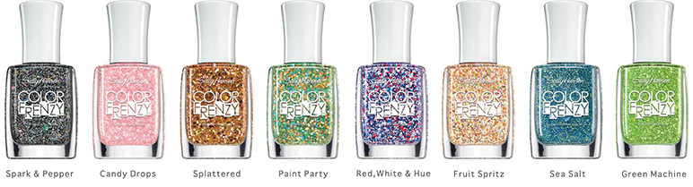 Sally Hansen Color Frenzy Nail Polish