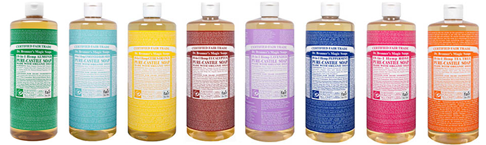 Dr Bronner's Magic Soaps