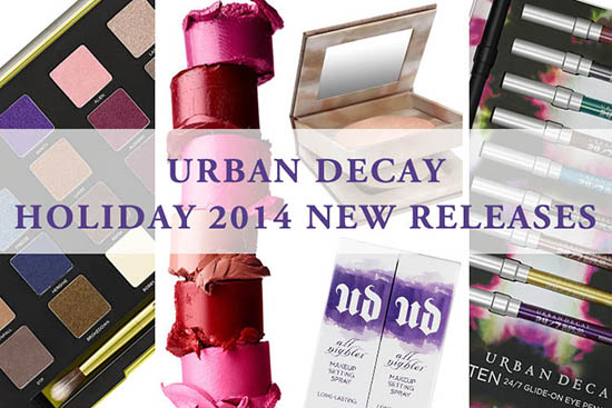 Urban Decay Holiday 2014