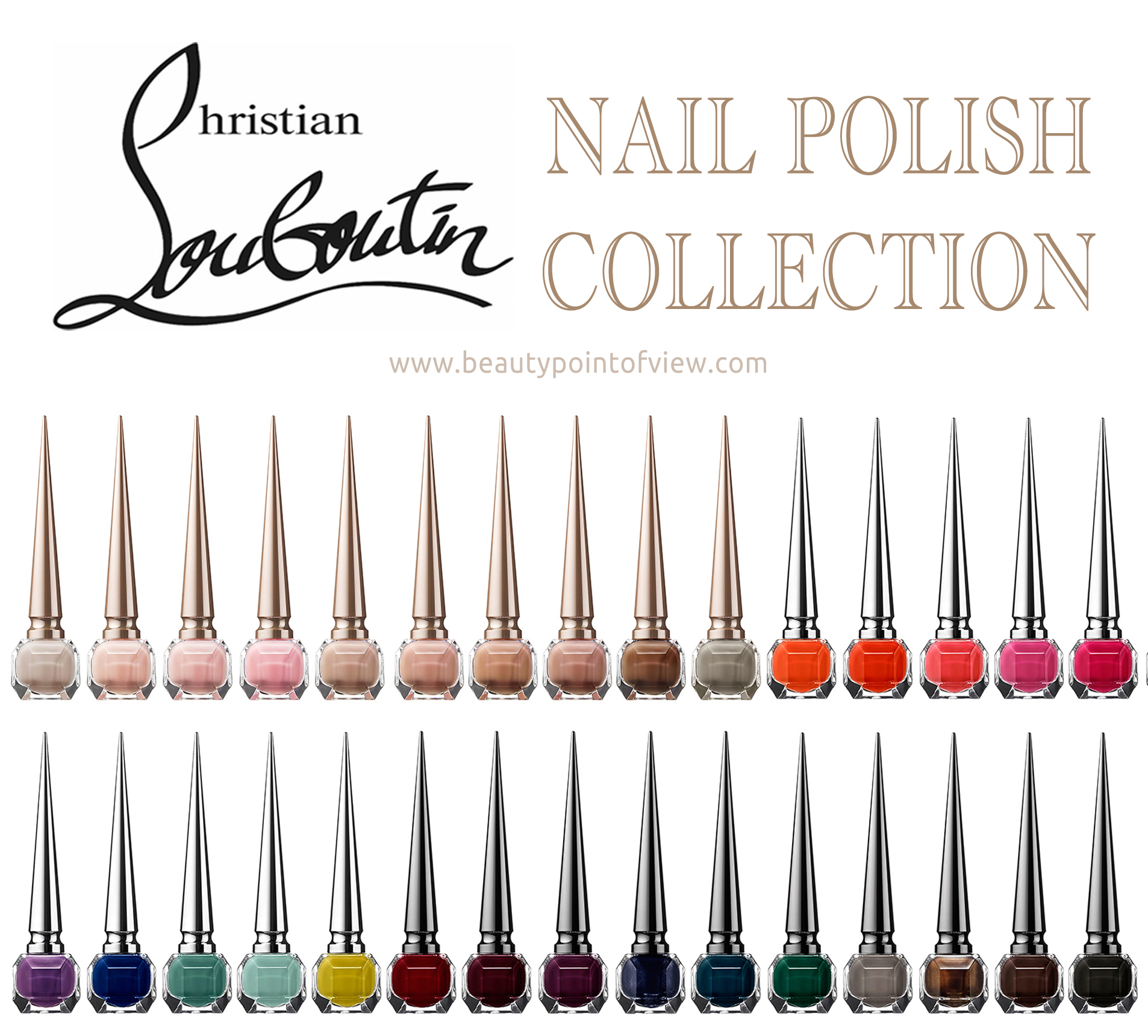 Christian Louboutin Nail Polish Collection