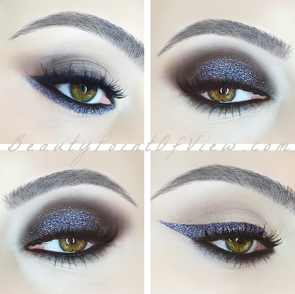 Glitter Eye Makeup - beautypointofview.com