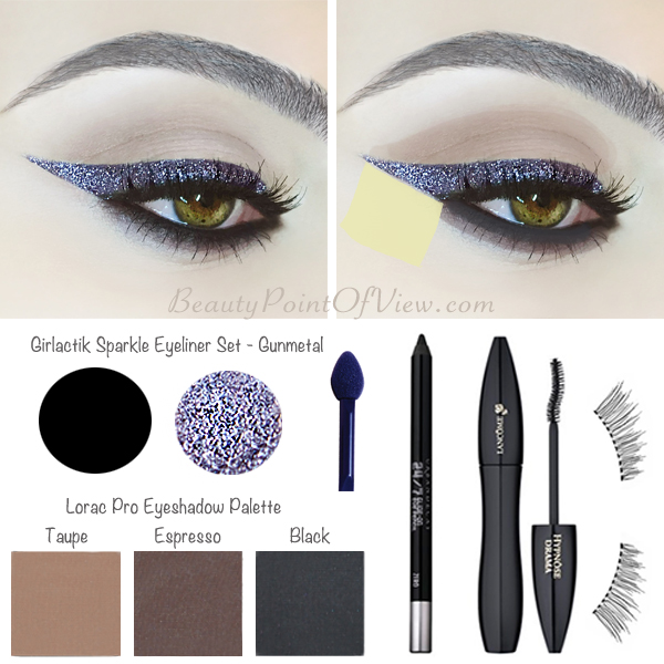 Sparkle Cat Eye Tutorial