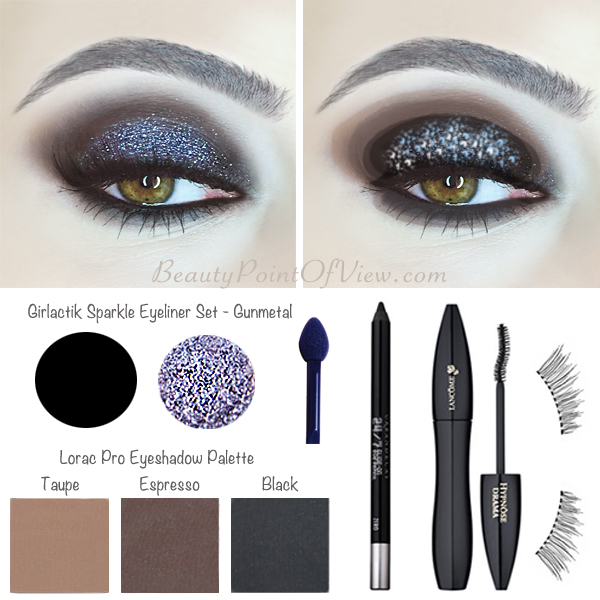Sparkle Smokey Eye