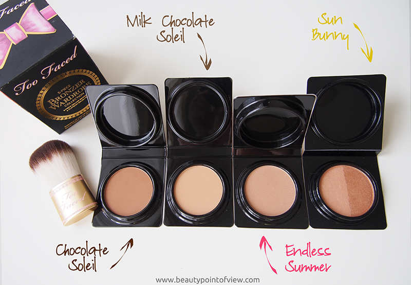 Too Faced 5-piece Bronzer Wardrobe