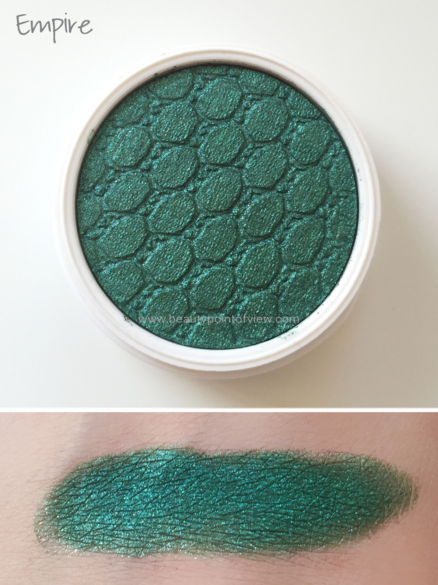 Colourpop Super Shock Eyeshadows - Empire