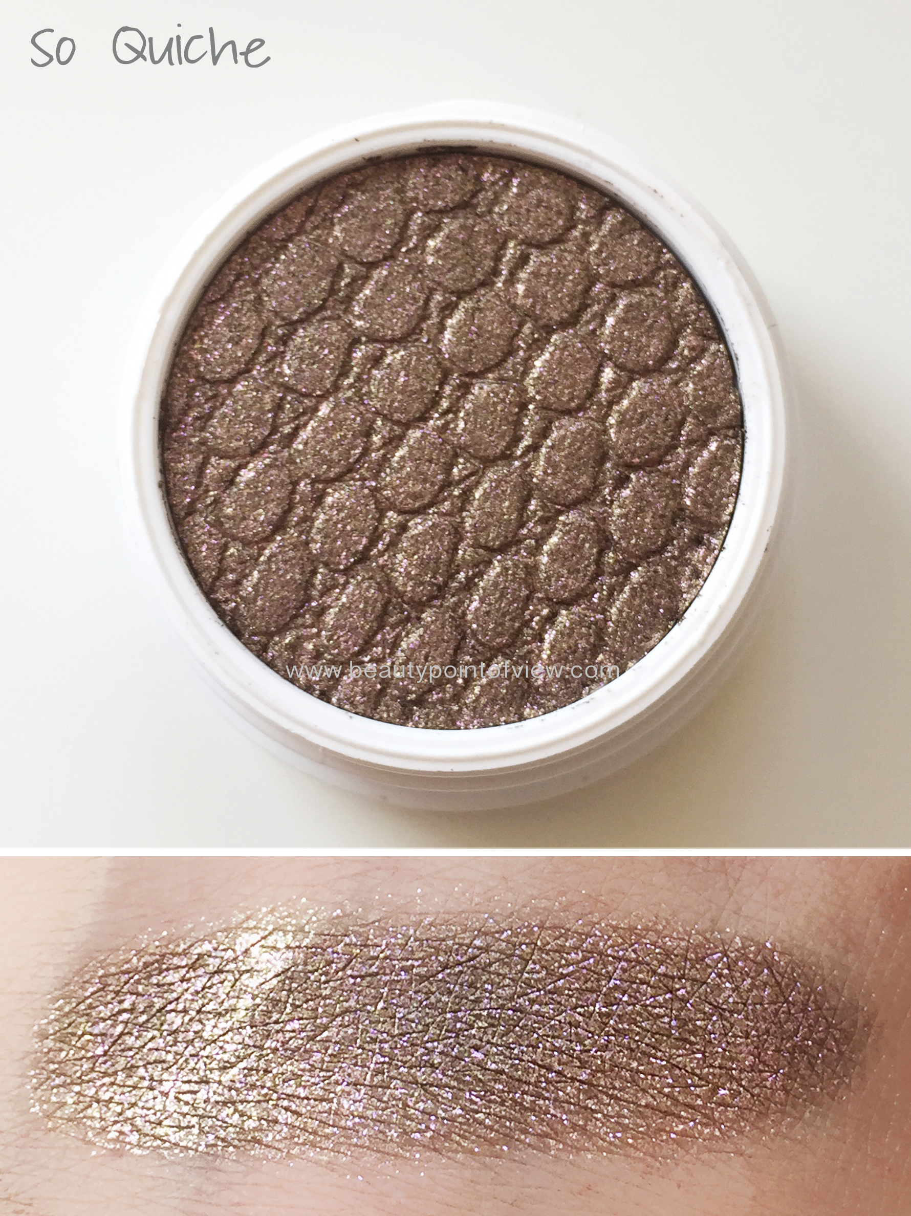 Colourpop Super Shock Eyeshadows - So Quiche