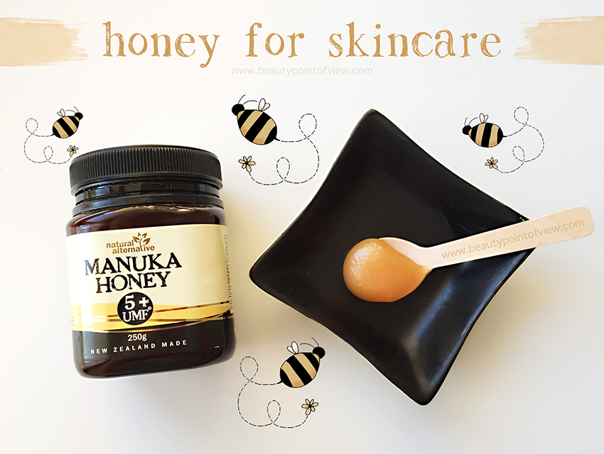 Honey for skincare