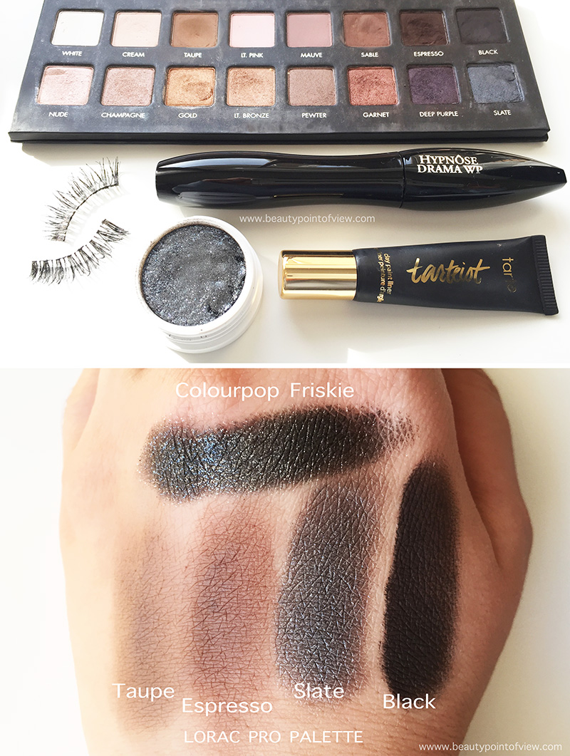 Sultry smoky eye tutorial beauty point of view sultry smoky eye products baditri Gallery