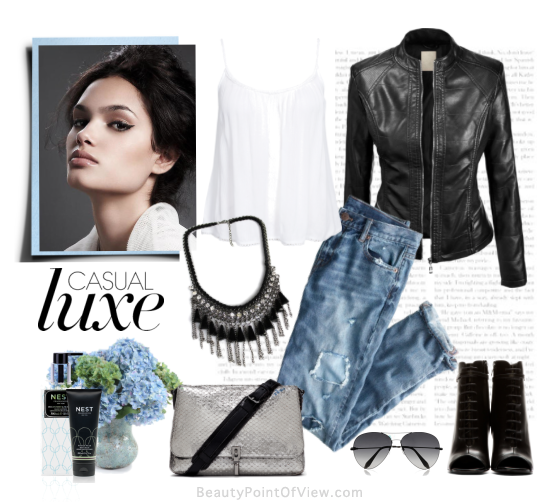 Casual Luxe fashion set