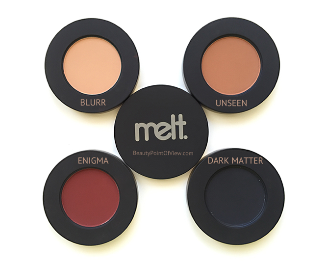 Melt Cosmetics Dark Matter Stack