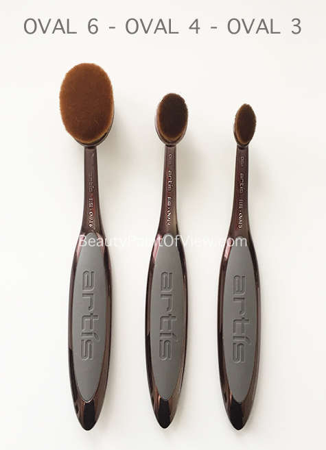 Artis Oval Brushes