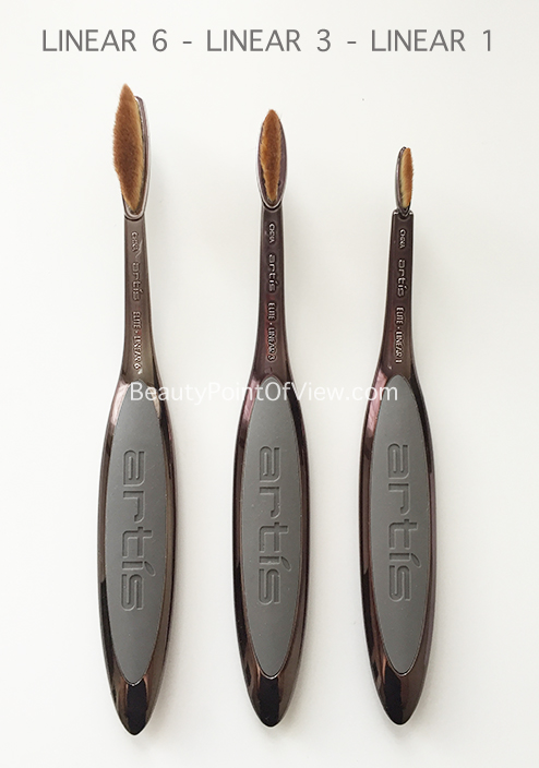 Artis Linear Brushes
