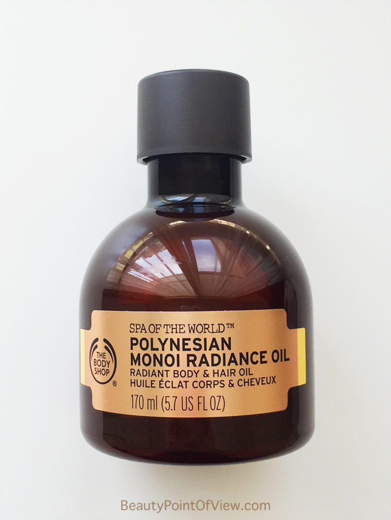 The Body Sop Polynesian Monoi Radiance Oil
