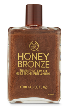 The Body Shop Shimmering Dry Oil
