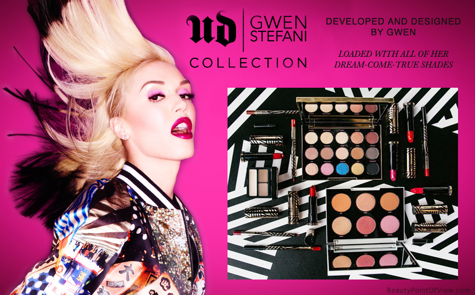 Urban Decay x Gwen Stefani Full Collection