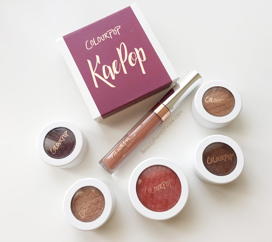 Colourpop KaePop Collection