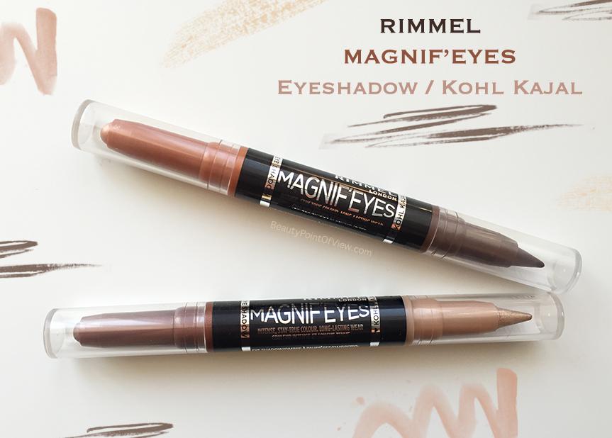Rimmel Magnifeyes Eyeshadow / Kohl Kajal Duo