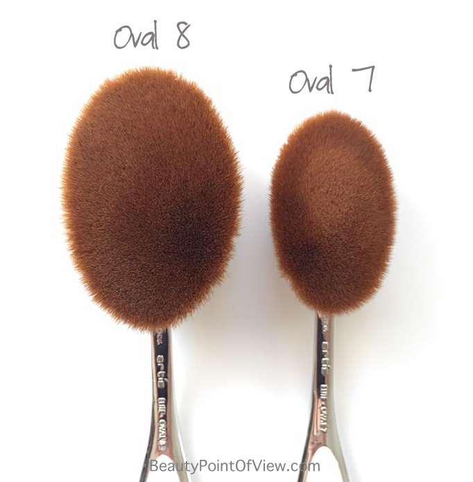 Artis Oval 8 ad Oval 7 brushes