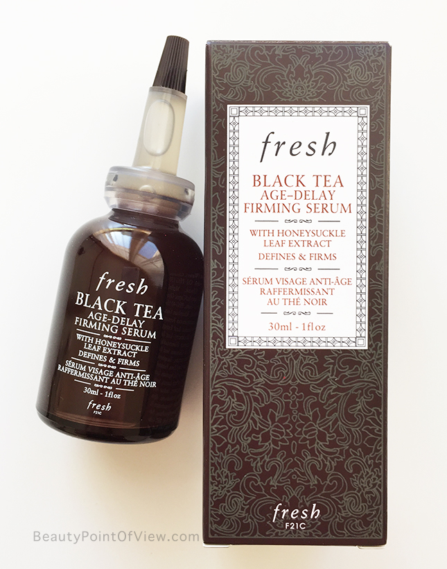 Fresh Black Tea Age Delay Firming Serum