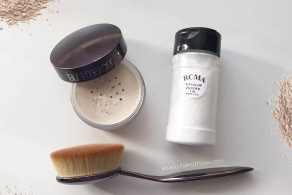 Laura Mercier vs RCMA Setting Powder
