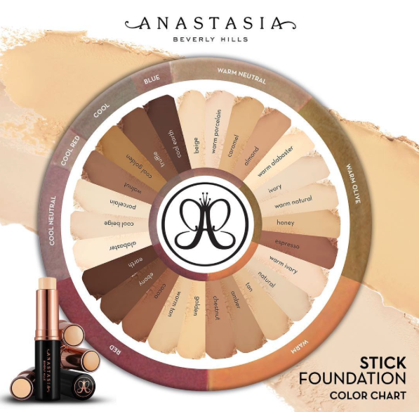 Anastasia Beverly Hills Stick Foundations