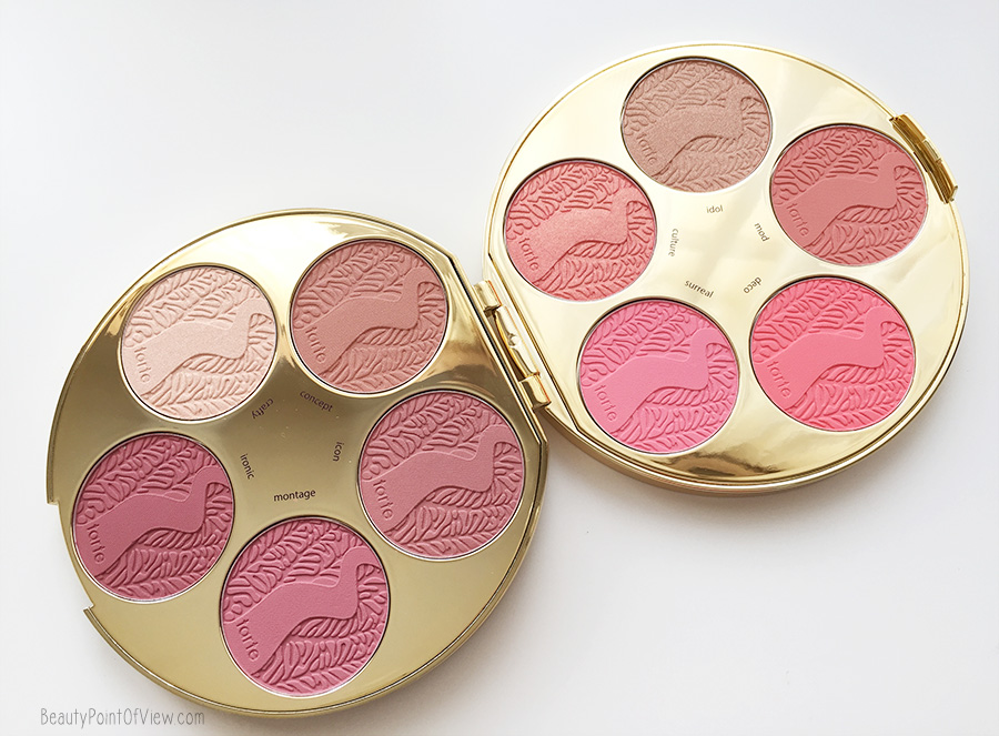 Tarte Amazonian Clay Blush Color Wheel