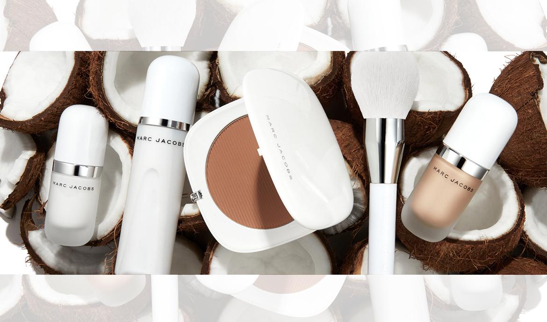 Znalezione obrazy dla zapytania Marc Jacobs Beauty Coconut collection