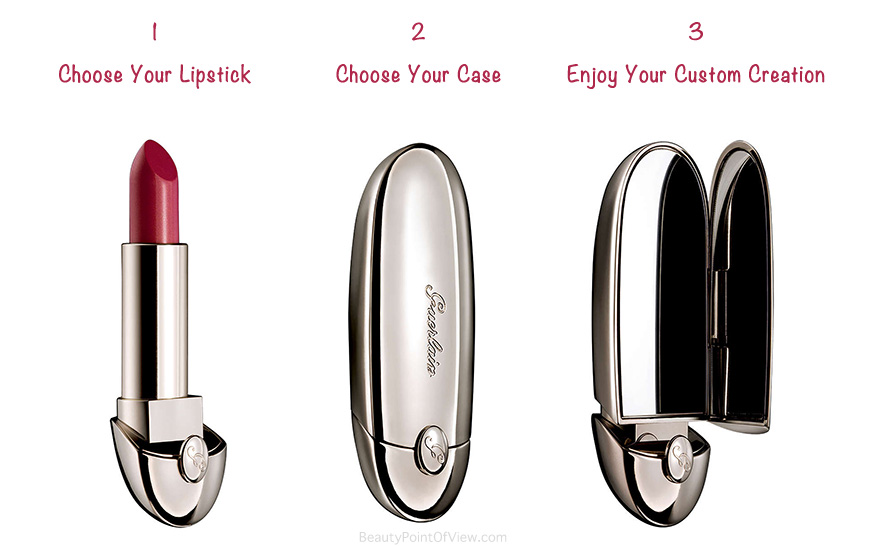 Guerlain Rouge G Customizable Lipsticks - Beauty Point Of View