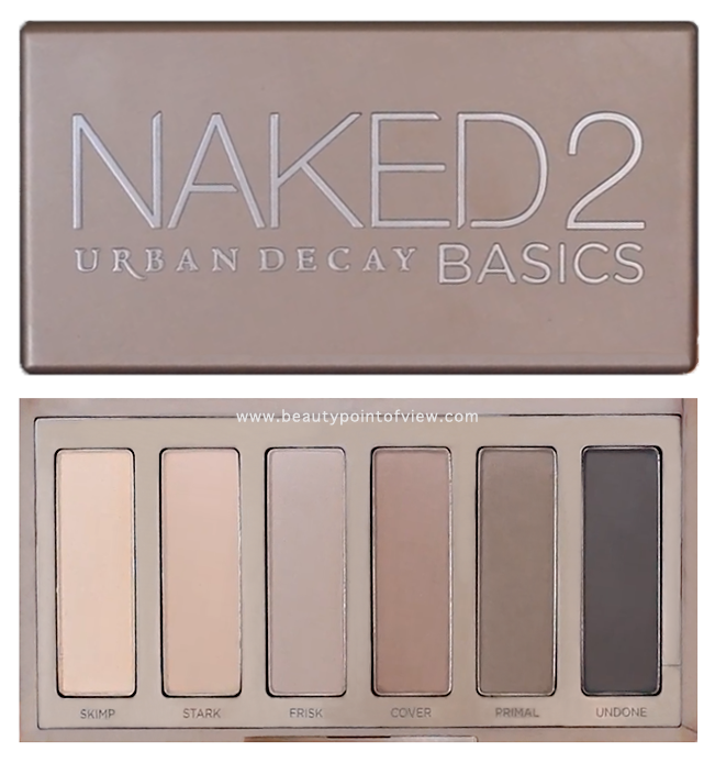 Review! Urban Decay Naked 2 Basics Palette + Swatches