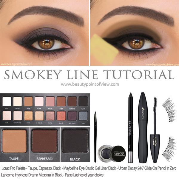 Smoky Line Eye Makeup Tutorial Beauty