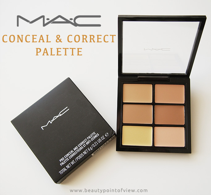 MAC Pro Conceal and Correct Palette - Beauty Point Of View