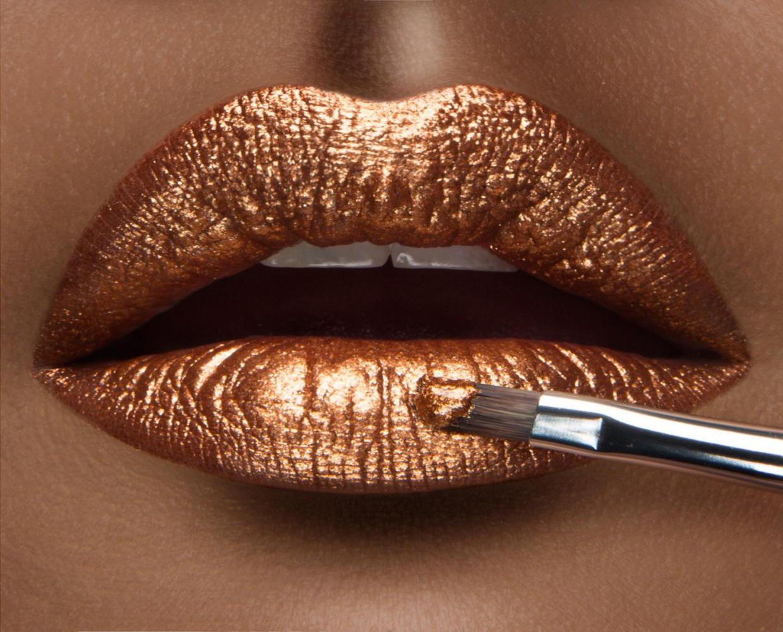 Resultado de imagen para metallic lips